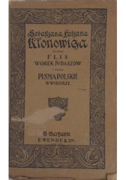 Pisma Polskie w wyborze , 1914 r.