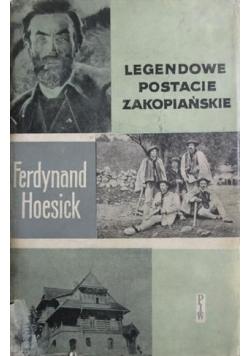 Legendowe postacie zakopiańskie