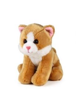 Kot jasno-brązowy siedzący 15cm ACP