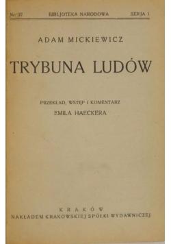 Trybuna ludów, 1925 r.