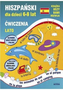 Hiszpański dla dzieci 6-8 lat ćw. Lato w.2018