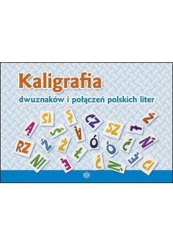 Kaligrafia dwuznaków i połączeń polskich liter