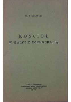 Kościół w walce z pornografią, 1939 r.
