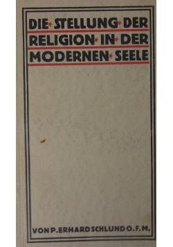 Die Stellung der Religion in der Modernen Seele, 1930r.