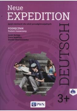 Neue Expedition Deutsch 3+ Podręcznik + 2CD