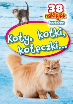 Koty, kotki, koteczki - 38 naklejek