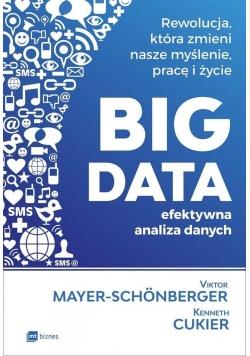 Big data. Efektywna analiza danych w.2017
