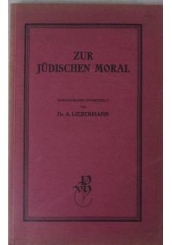 Zur Judischen Moral