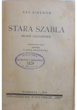 Stara Szabla, 1934 r
