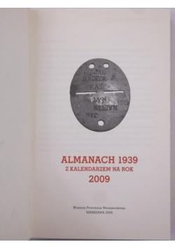 Almanach 1939. Z kalendarzem na rok 2009
