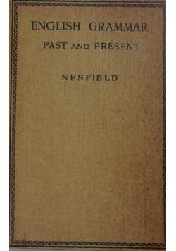 English Grammar past and Present ,1948r.