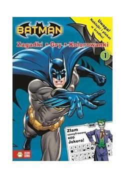 Batman Zadania gry naklejki 1