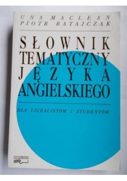 Słownik tematyczny języka angielskiego