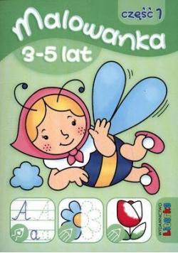 Malowanka 3-5 lat cz. 1 LITERKA