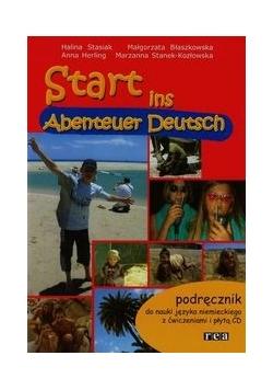 Start ins Abenteuer Deutsch. Podręcznik do nauki języka niemieckiego z ćwiczeniami i płytą CD