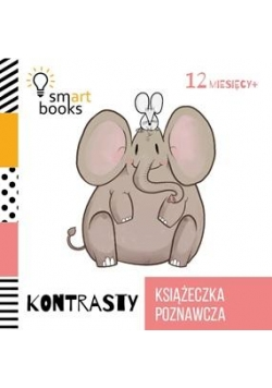 Książeczka poznawcza 12 M+ Kontrasty