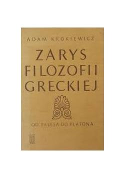 Zarys filozofii greckiej