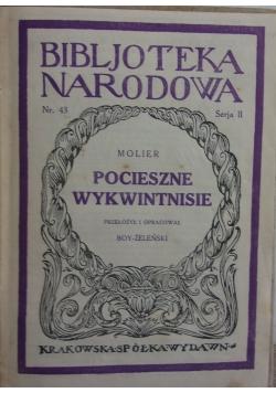 Pocieszne wykwintnisie, 1926 r.