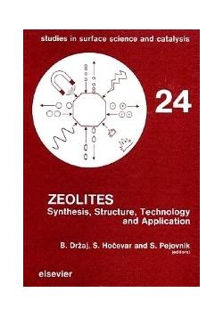 Zeolites, Volume 24