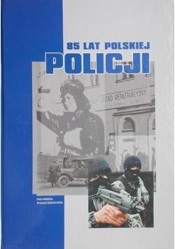 85 lat polskiej policji
