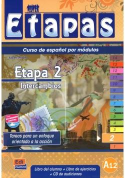 Etapas 2 Podręcznik + ćwiczenia + CD