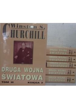 Druga Wojna Światowa, Tom i-III, zestaw 6- książek