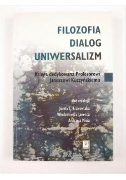 Filozofia dialog uniwersalizm
