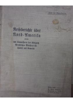 Reifeberichte uber Rordamerita  1905 r.