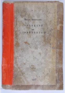 Voltaire et Frederic II, 1927 r.