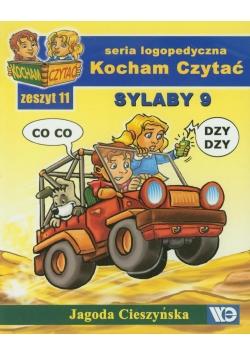 Kocham czytać zeszyt 11. Sylaby 9