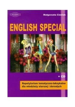 English Special Repetytorium tematyczno-leksykalne dla młodzieży starszej i dorosłych z płytą CD