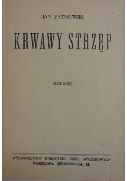 Krwawy Strzęp, 1927r.