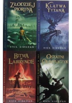 Percy Jackson i bogowie olimpijscy, 4 książki