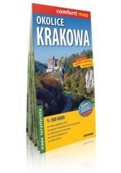 Comfort!map Okolice Krakowa 1:50 000 mapa