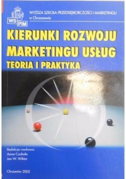 Kierunki rozwoju marketingu usług