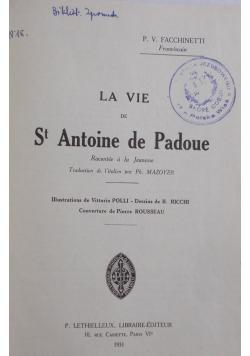 La Vie , 1931 r.