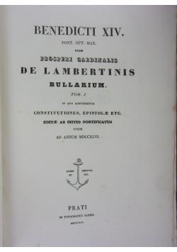 Opera Omnia, 1845r.