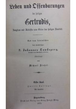 Leben und Offenbarungen, 1875r.