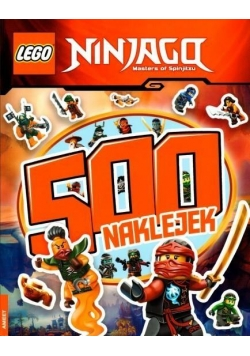 500 naklejek. LEGO ® Ninjago