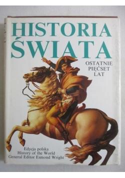 Historia świata ostatnie 500 lat