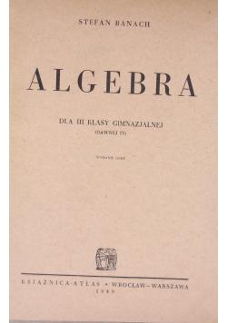 Algebra, 1949r.