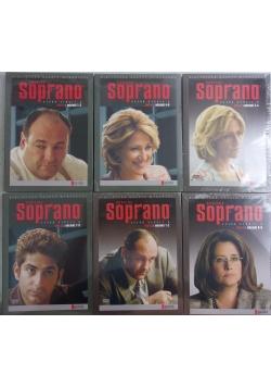 Rodzina Soprano, 6 płyt DVD