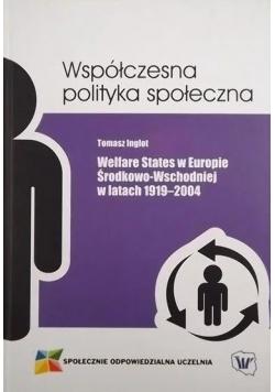 Współczesna polityka społeczna