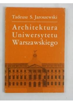 Architektura Uniwersytetu Warszawskiego