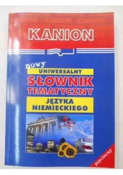 Nowy uniwersalny słownik tematyczny języka niemieckiego