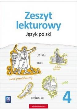 J.Polski SP 4 Zeszyt lekturowy WSiP