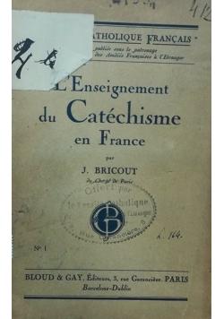 L'Enseignement du Catechisme en France, 1922 r.