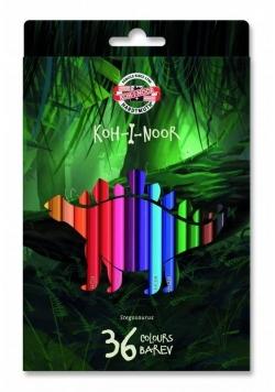 Kredki 3595 Dino 36kolorów