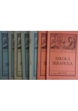 Szkoła Seraficka, zestaw  7 zeszytów, 1934r.