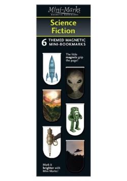 Zakładki magnetyczne Science Fiction 6 sztuk